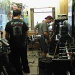Weightless tour, HUSH rehearsal studio, Seattle